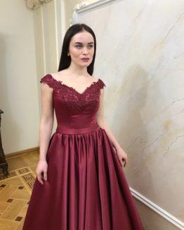 Evening dress 0009-2018