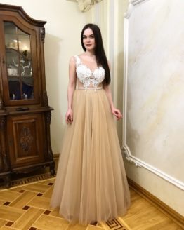 Evening dress 0078-2018