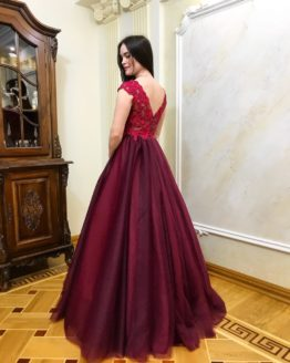 Evening dress 0083-2018