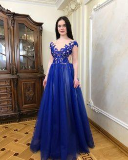 Evening dress 0123-2018