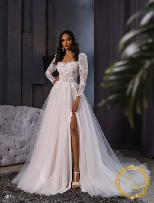 Wedding dress Lady Di 301-1