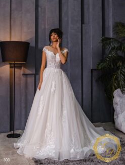 Wedding dress Lady Di 303-1