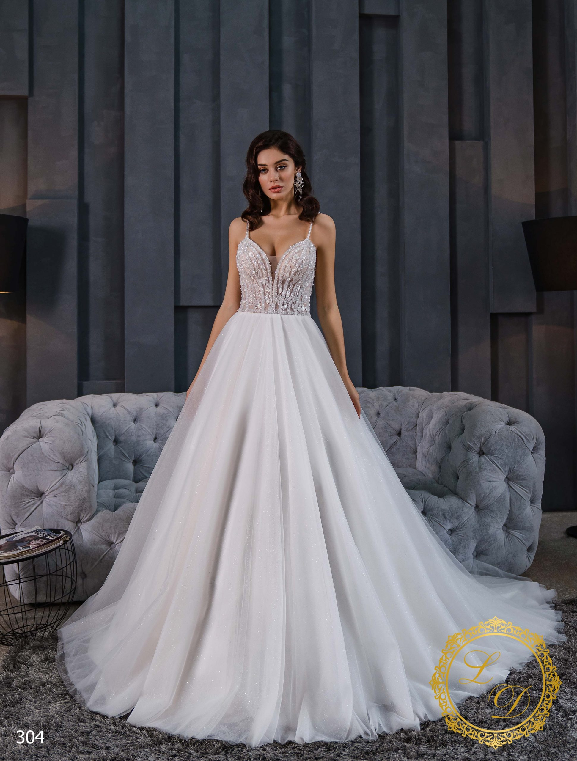 Wedding Dress Lady Di 304-1