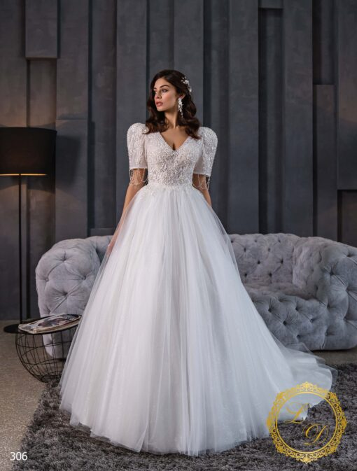 Wedding Dress Lady Di 306-1