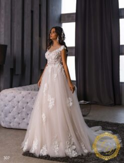 Wedding Dress Lady Di 307-1