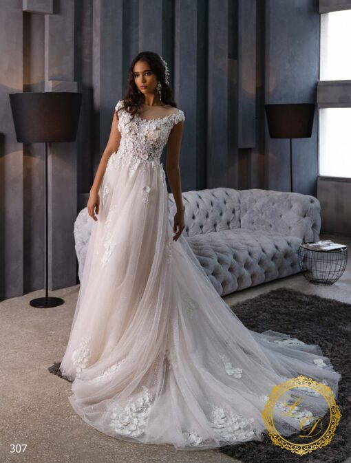Wedding Dress Lady Di 307-4