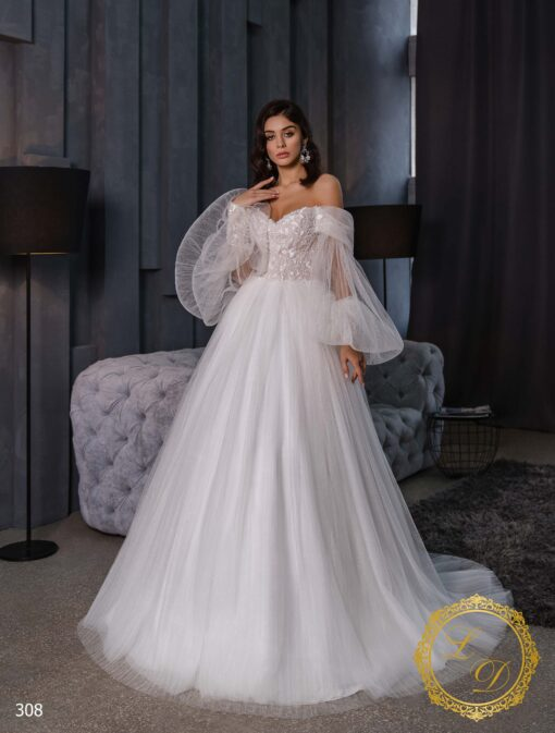 Wedding Dress Lady Di 308