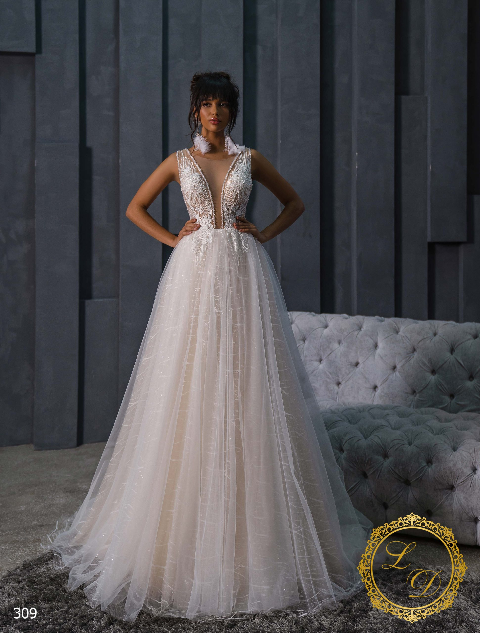 Wedding Dress Lady Di 309-1