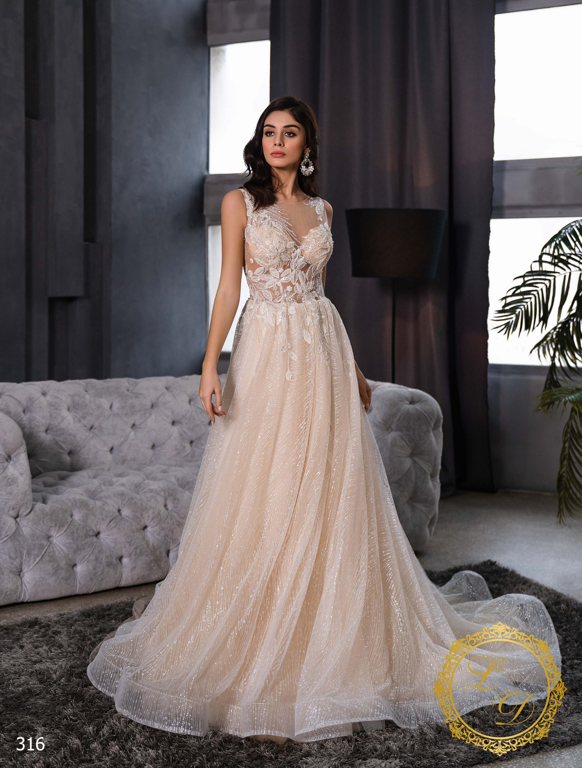 Wedding Dress Lady Di 316-1