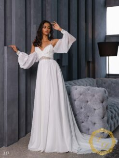 Wedding Dress Lady Di 317-1