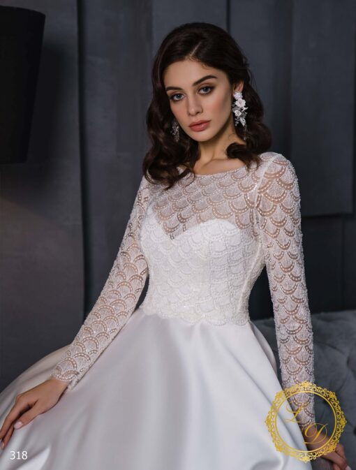 Wedding Dress Lady Di 318-2