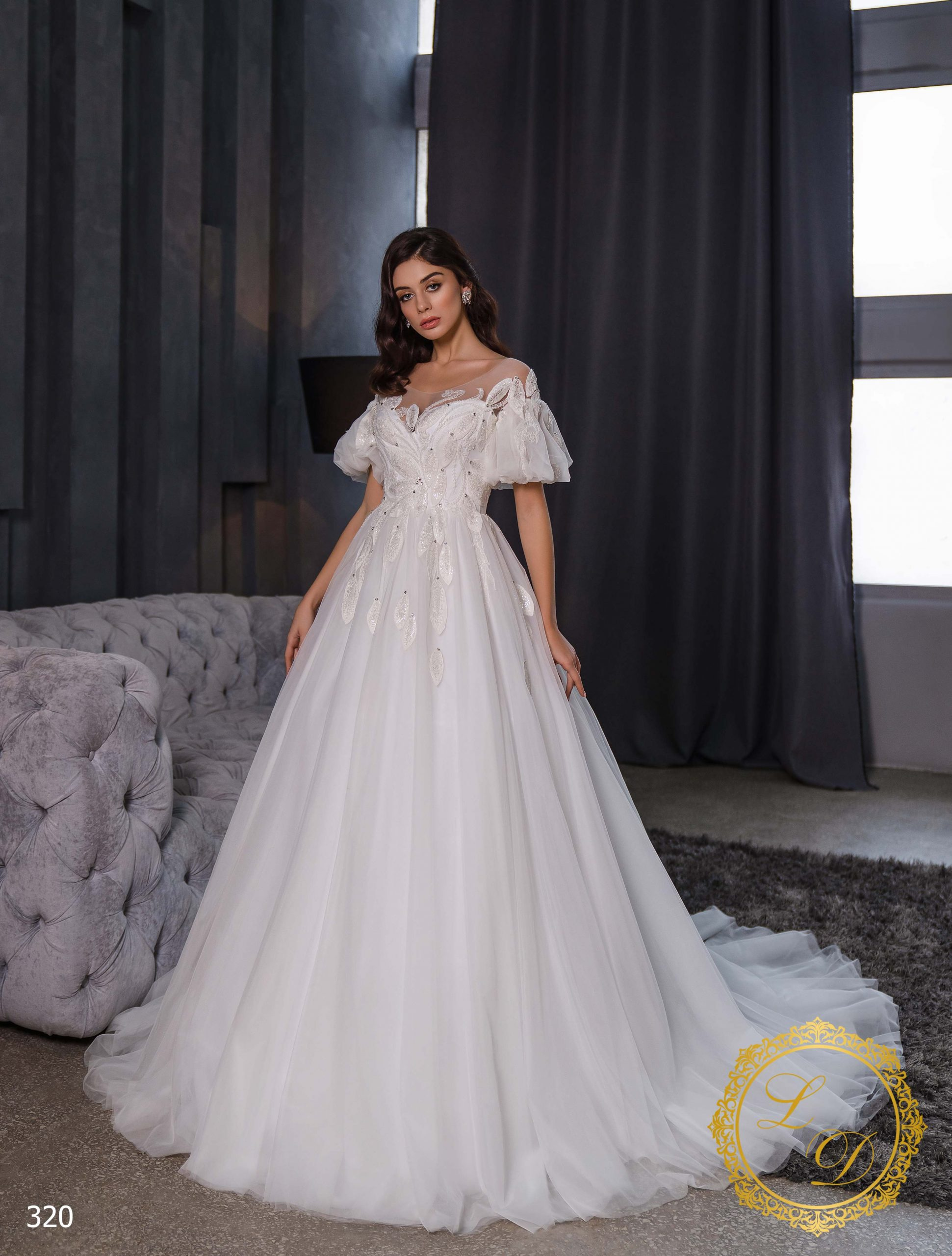 Wedding Dress Lady Di 320-1
