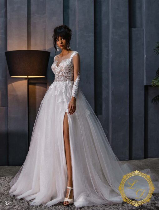 Wedding Dress Lady Di 321-1