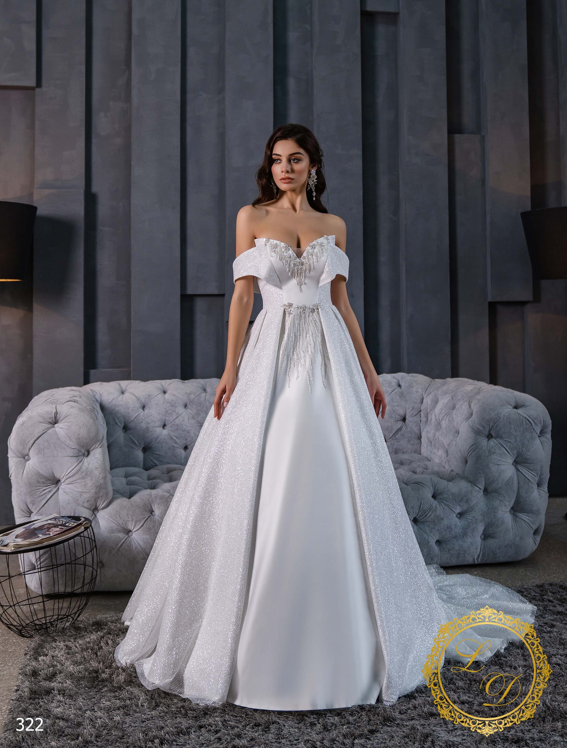 Wedding Dress Lady Di 322-1