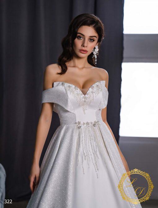 Wedding Dress Lady Di 322-2