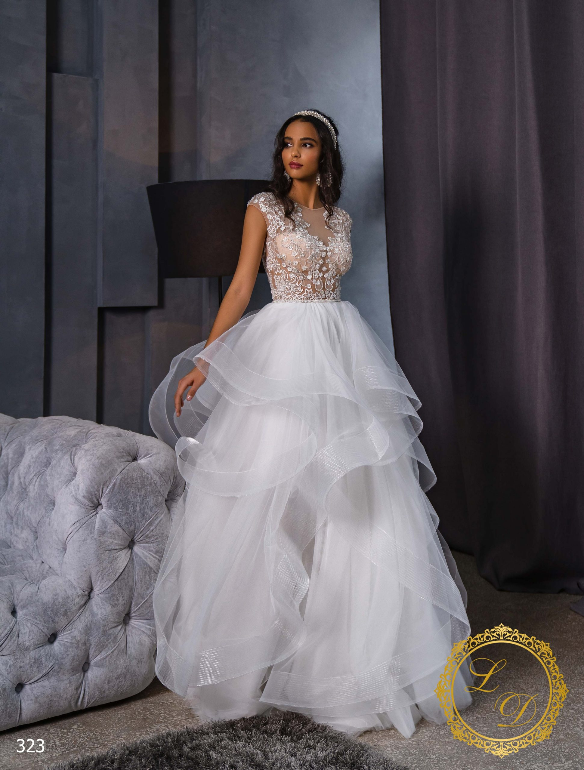 Wedding Dress Lady Di 323-2