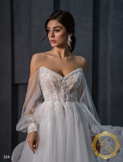 Wedding Dress Lady Di 324-2