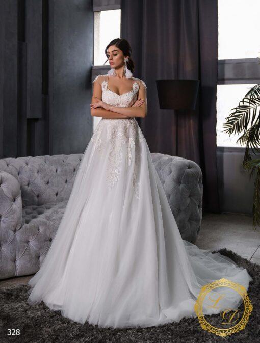 Wedding dress Lady Di 328-1