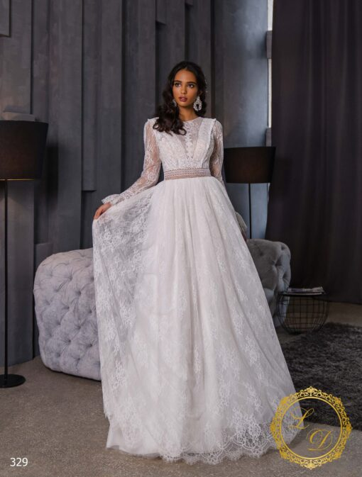 Wedding dress Lady Di 329-1