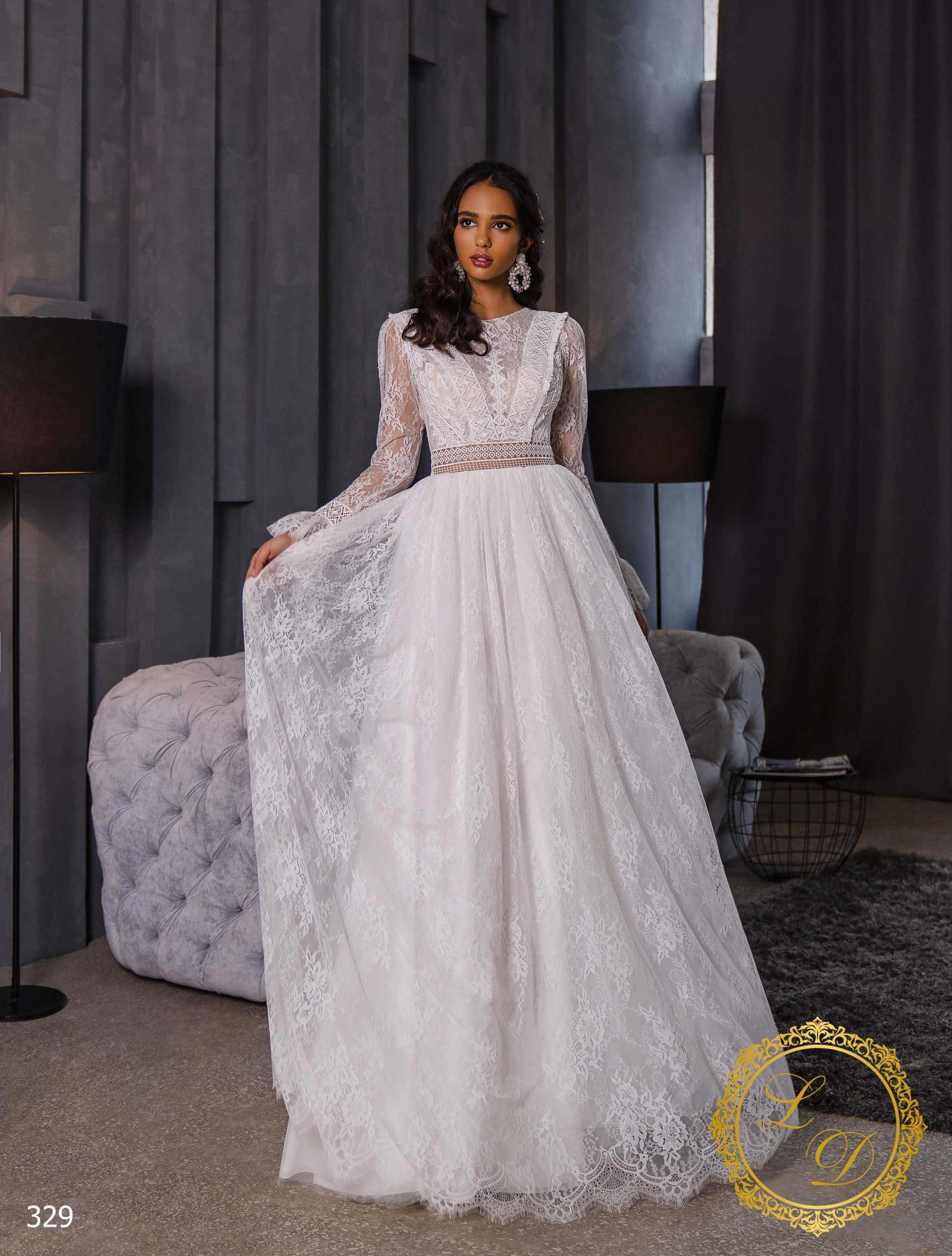 Wedding dress Lady Di 329-1