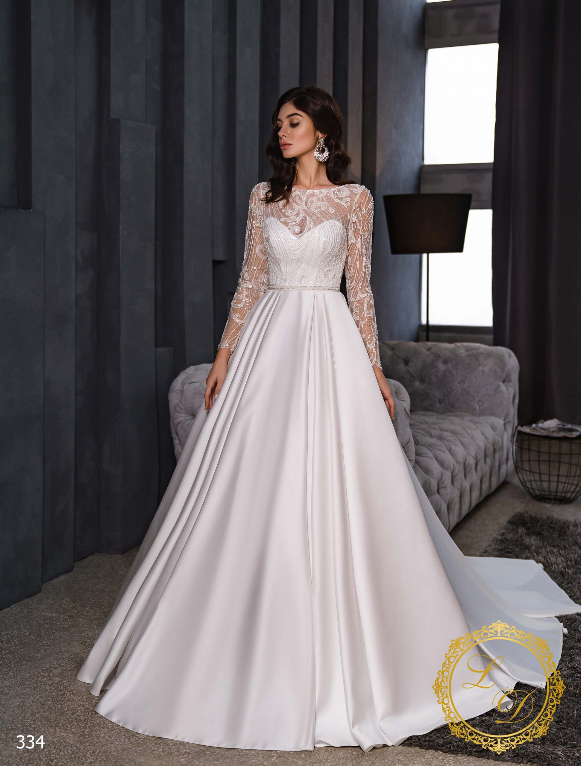 Wedding dress Lady Di 334-1