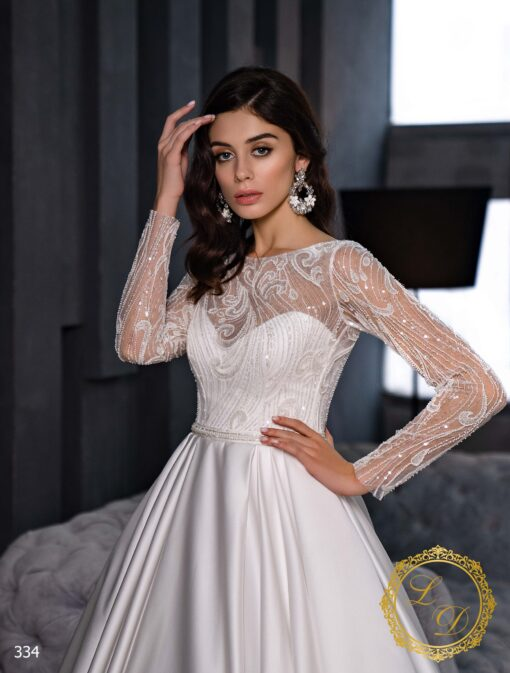 Wedding dress Lady Di 334-2
