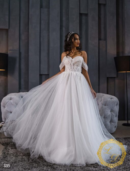 Wedding dress Lady Di 335-1