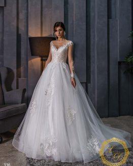 Wedding dress Lady Di 336-1