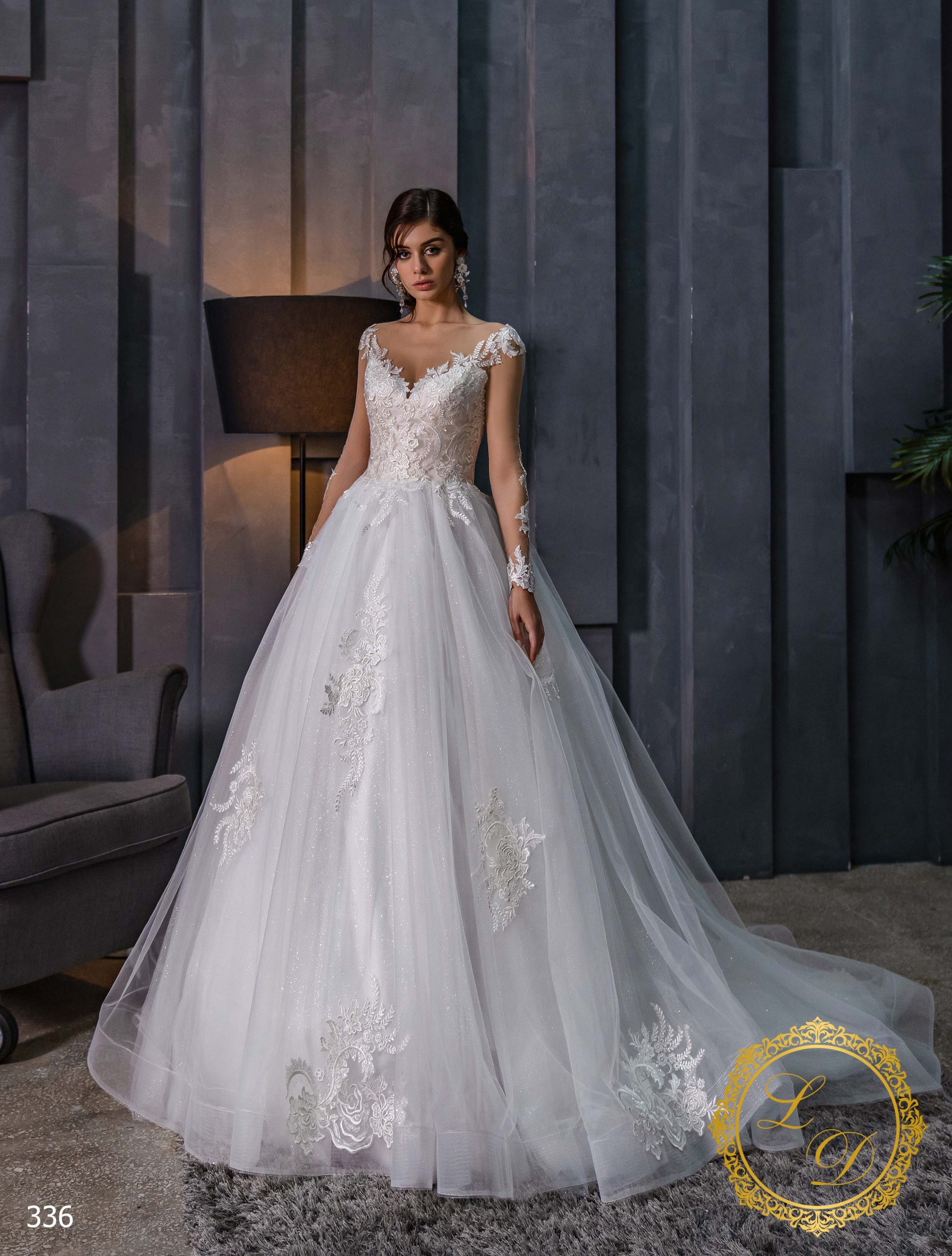 Wedding dress Lady Di 336-1