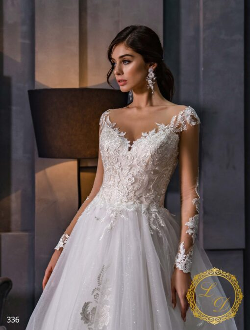 Wedding dress Lady Di 336-2