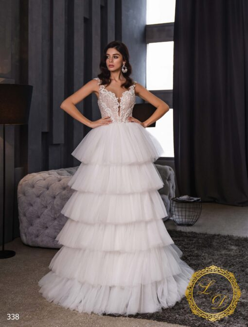 Wedding dress Lady Di 338-1