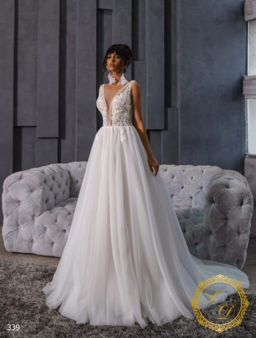 Wedding dress Lady Di 339-1