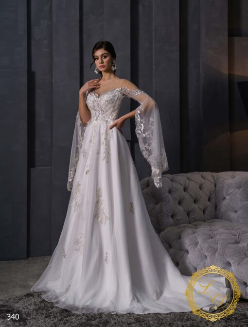 Wedding dress Lady Di 340-1