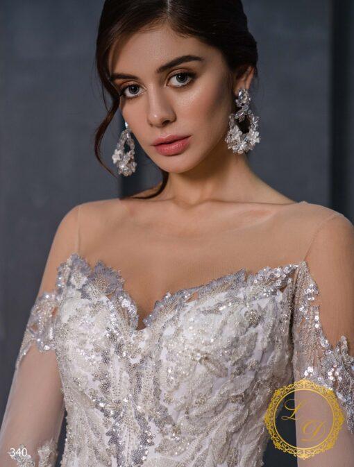 Wedding dress Lady Di 340-3