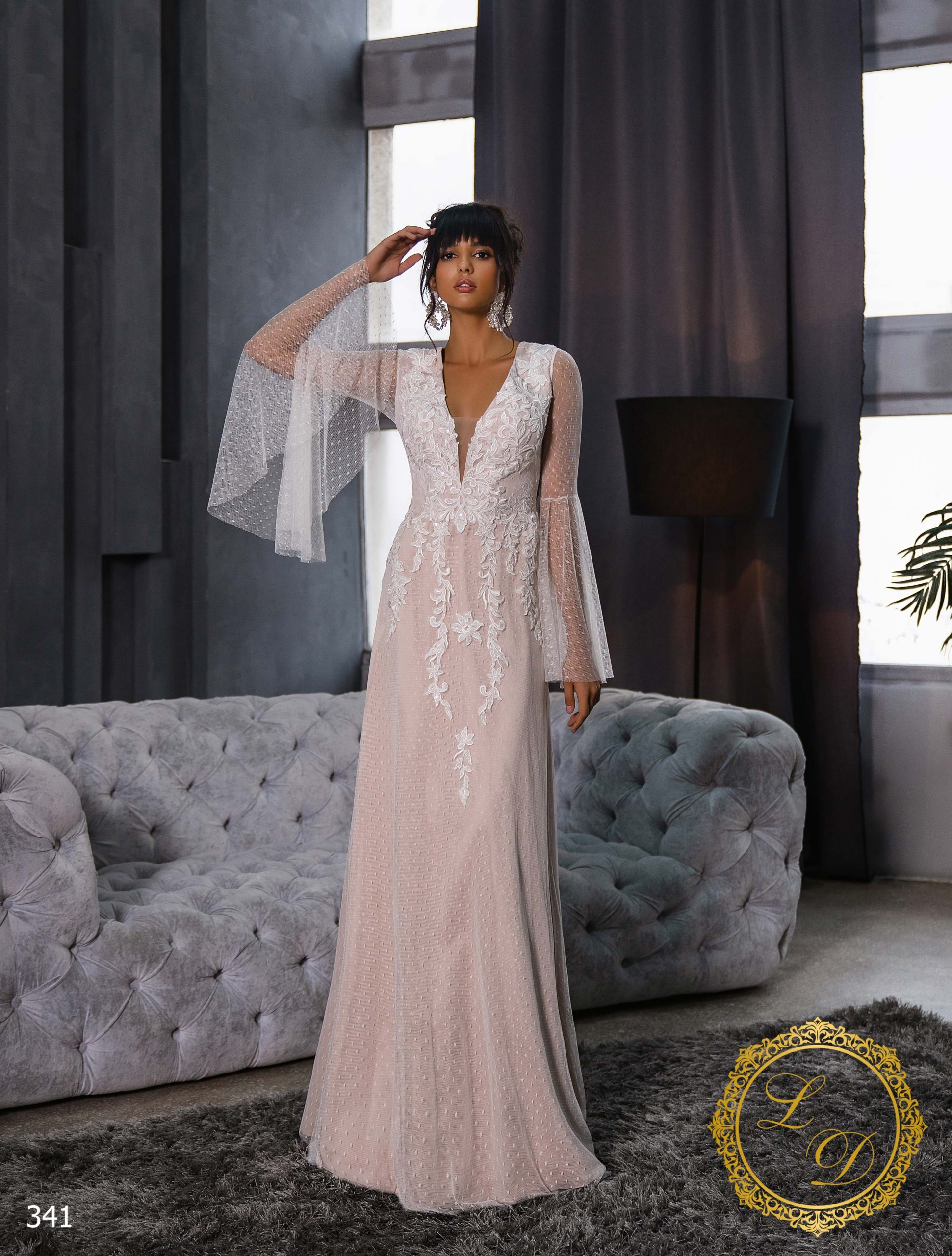 Wedding dress Lady Di 341-1