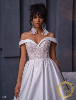 Wedding dress Lady Di 343-2
