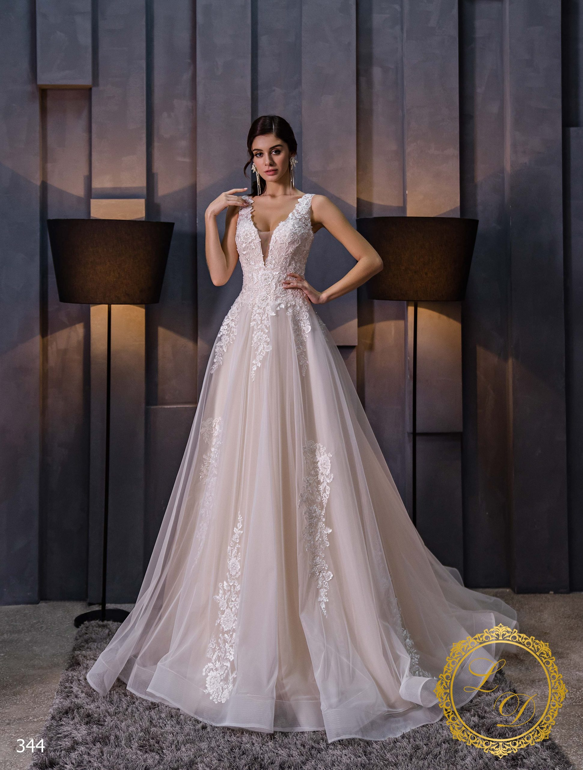 Wedding dress Lady Di 344-1