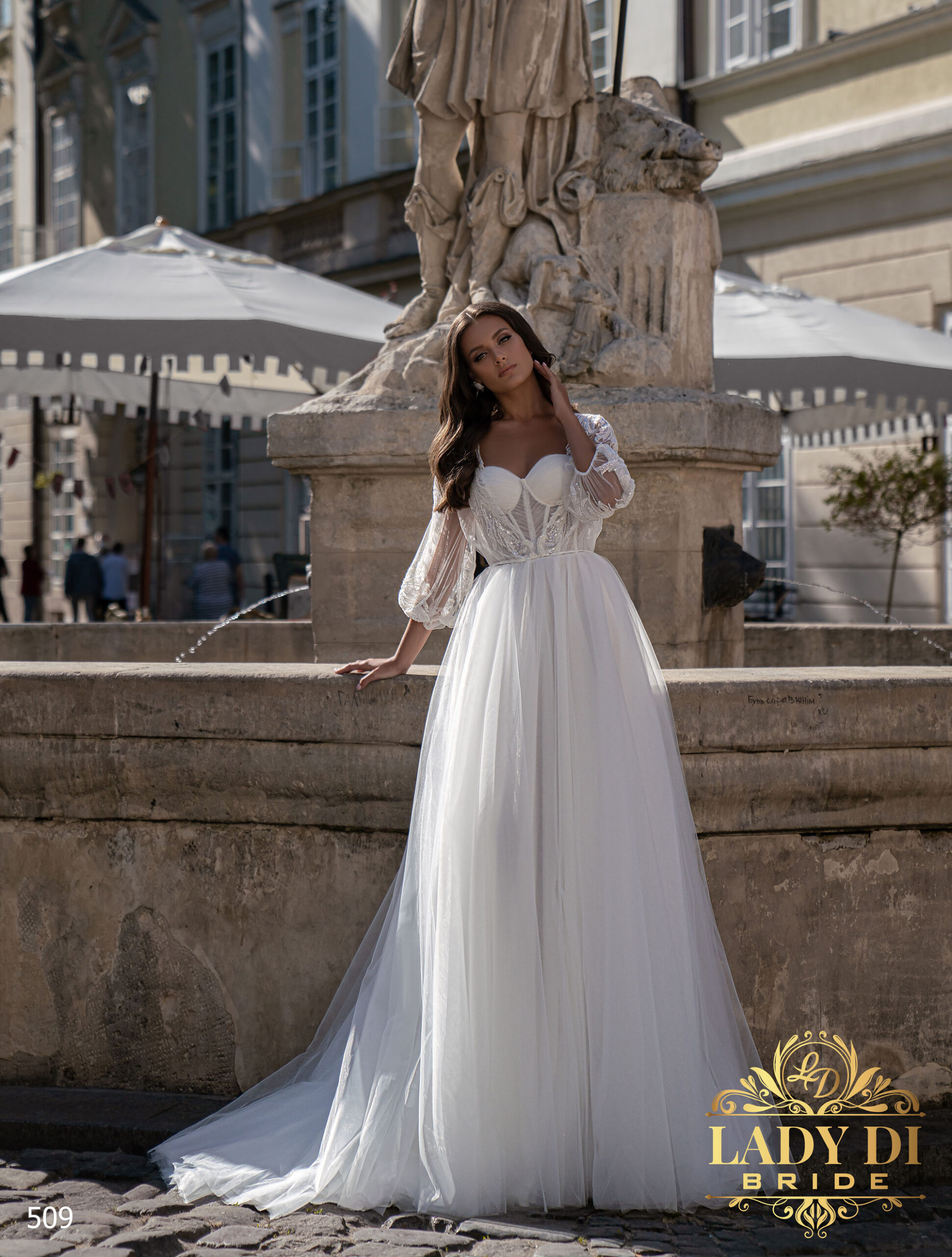 Wedding dress Lady Di 509-2