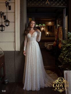 Wedding dress Lady Di 510-1-