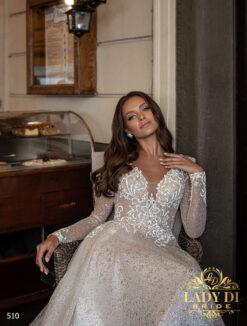 Wedding dress Lady Di 510-3