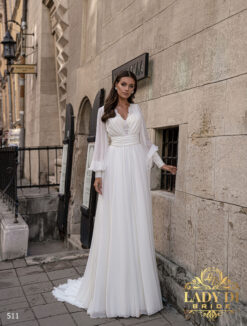 Wedding dress Lady Di 511-1