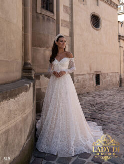 Wedding dress Lady Di 519-1