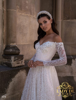Wedding dress Lady Di 519-2